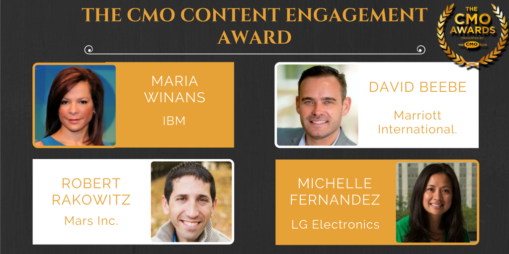 CMO Content Engagement Award