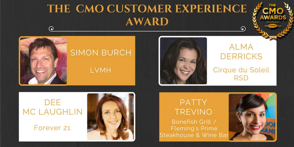 CMO Customer Experience Award