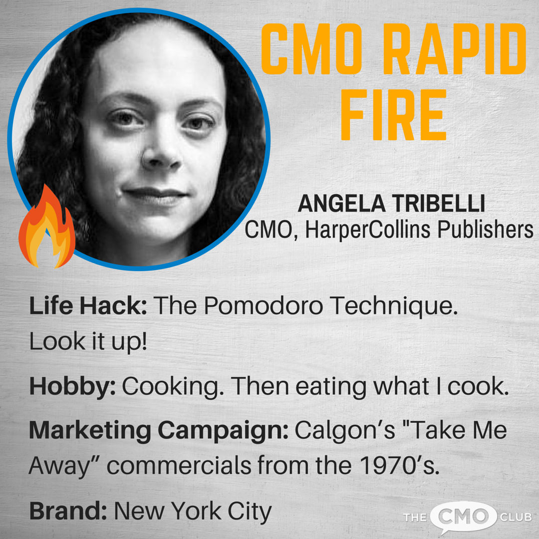 CMO RAPID FIRE Angela Tribelli