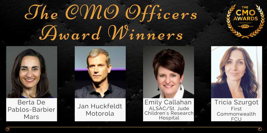 CMO Officers Award Winners