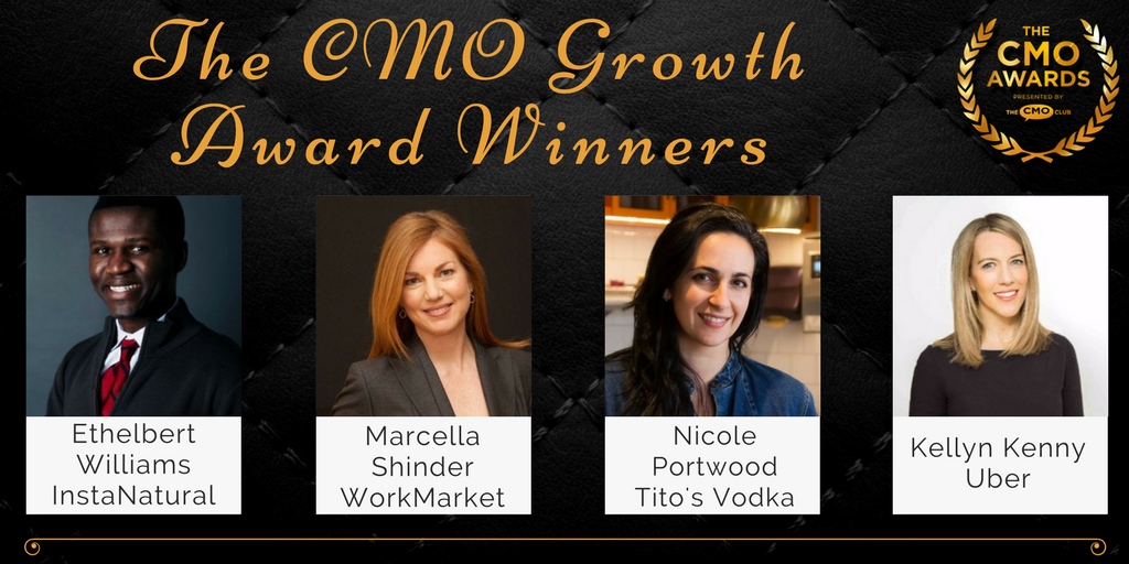 Growth Award Winners - 2017 CMO Awards