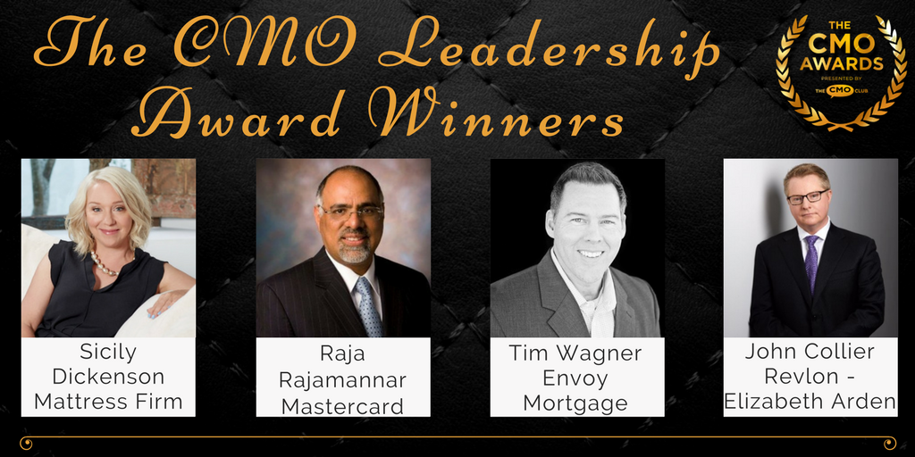 Leadership Award Winners - 2017 CMO Awards