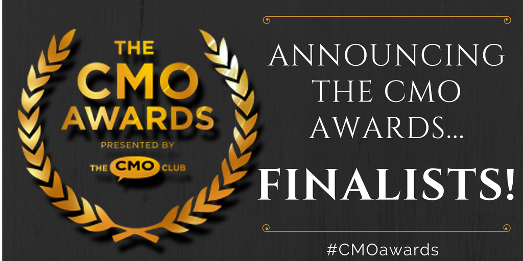 The CMO Awards - Presented By The CMO Club - Announcing The CMO Awards...Finalists! hashtag CMOawards