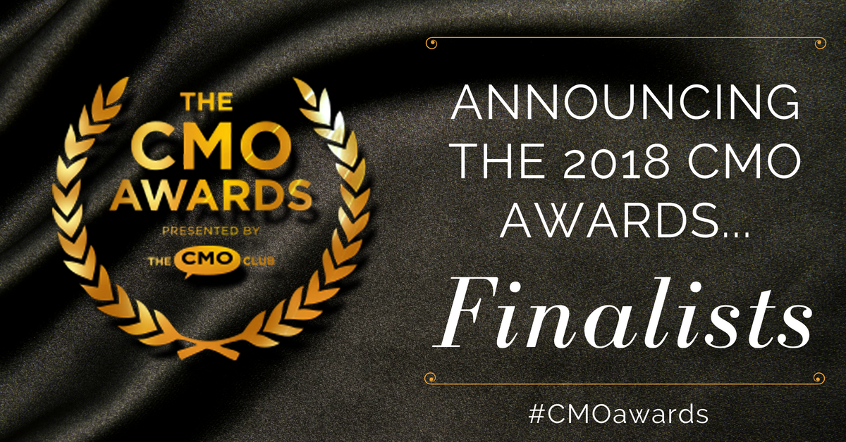 2018 CMO Awards Finalits