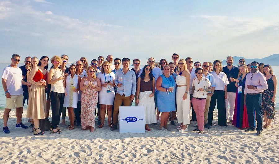 2018 CMO ClubHouse at Cannes Group Pic