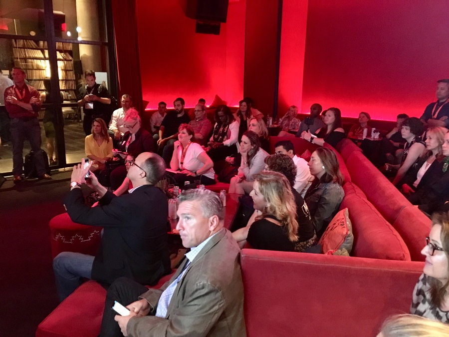 A captivated audience in the CMO ClubHouse