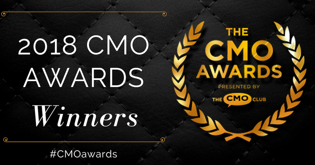 CMO Awards Winner 2018