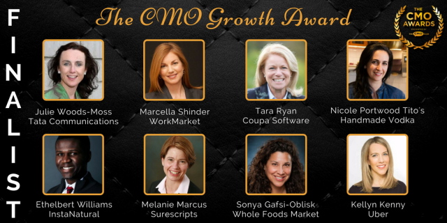 CMO Growth Award - 2017 CMO Awards Finalist