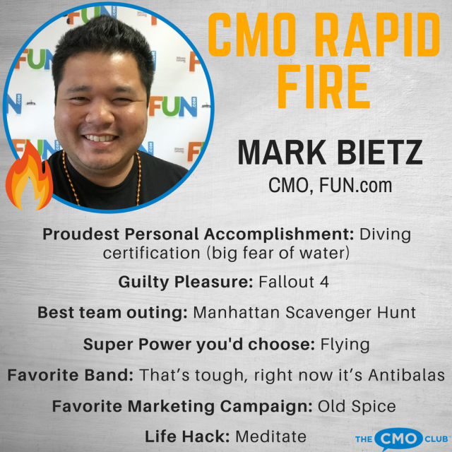 The CMO Club CMO RAPID FIRE, Mark Bietz1