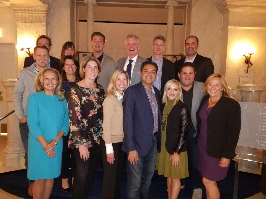 The CMO Club Chicago Dinner Pic 9.7.17