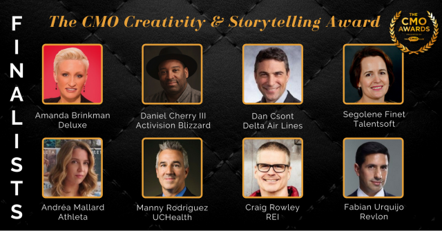 Creativity storytelling Finalists 2018