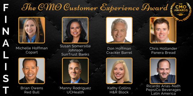 Customer Experience Award - 2017 CMO Awards Finalist