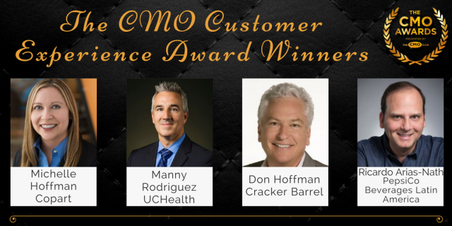 Customer Experience Award Winners - 2017 CMO Awards Winners