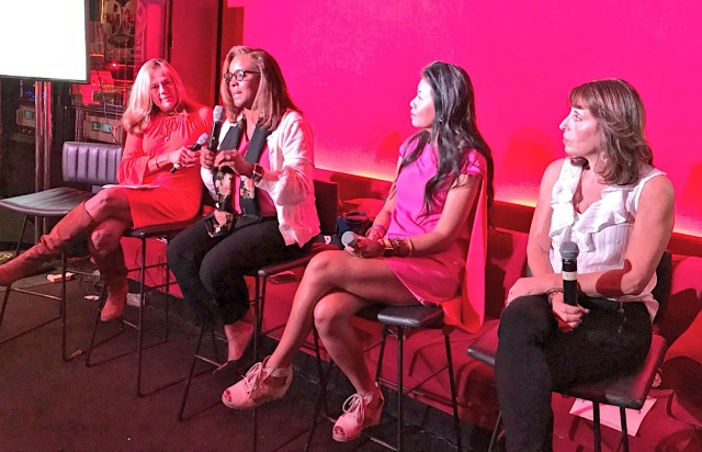 A powerhouse panel on customer experience with Kim Feil, Renee Baker, Swan Sit and Judy Hackett