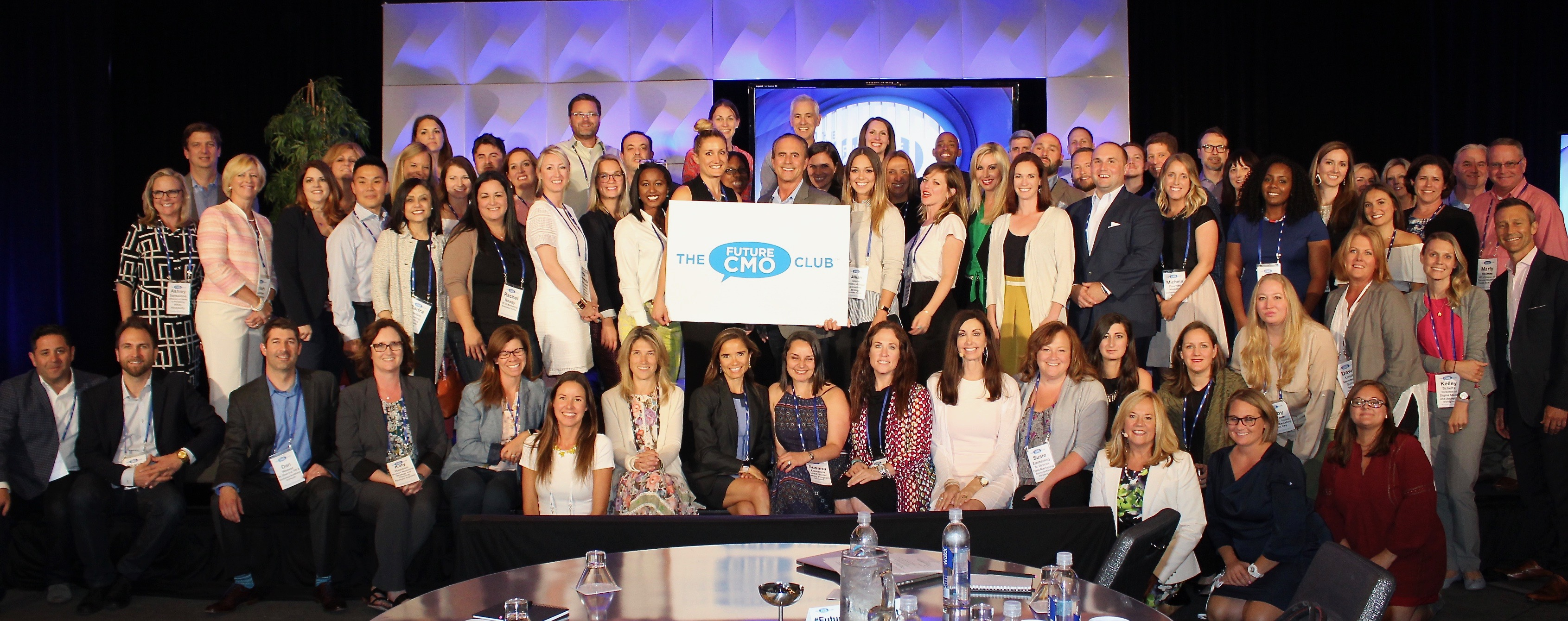 The Future CMO Club Marketing & Mentoring Group Photo