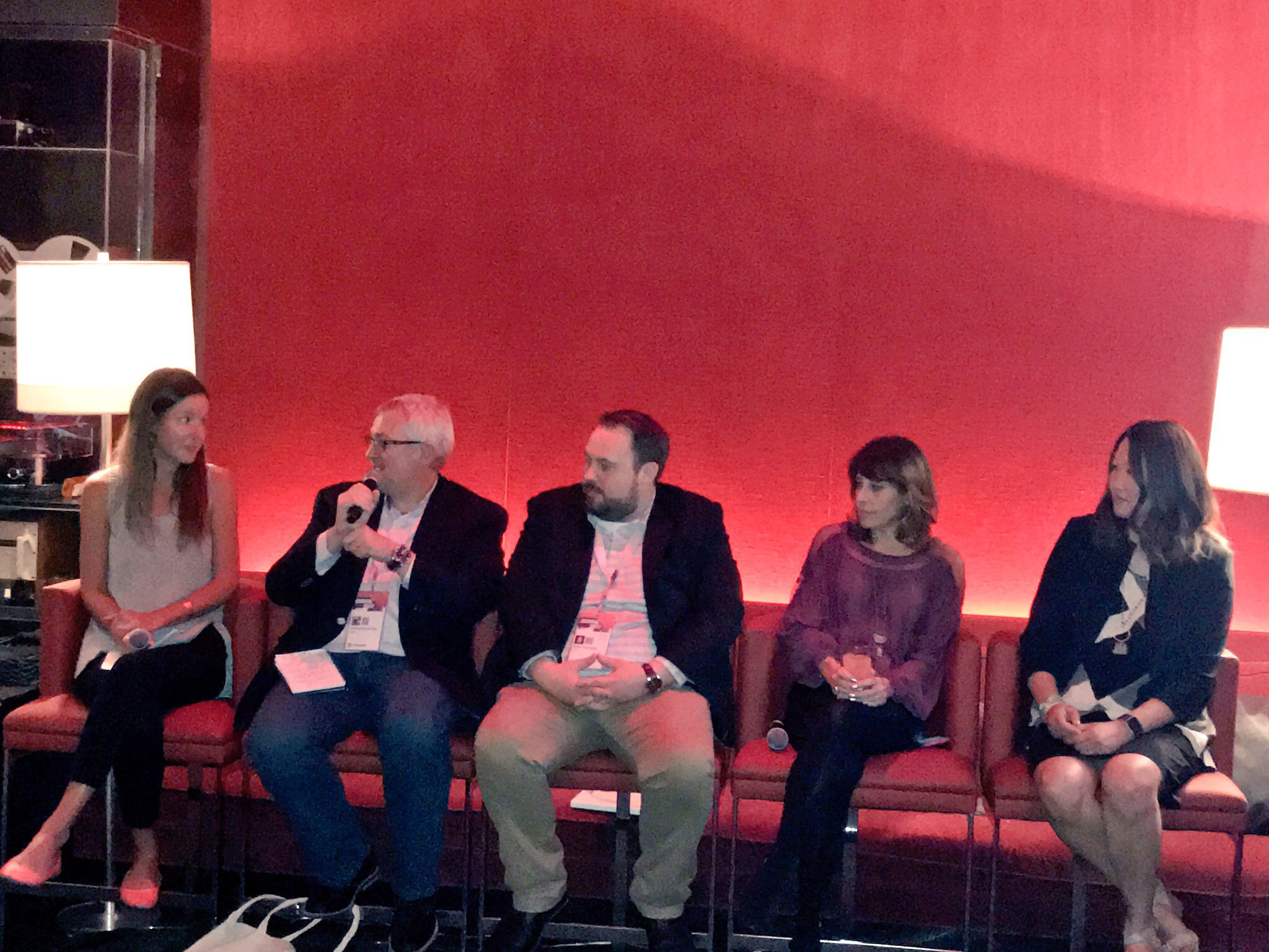 CMO Clubhouse at SXSW Wax on Wax Off Panel