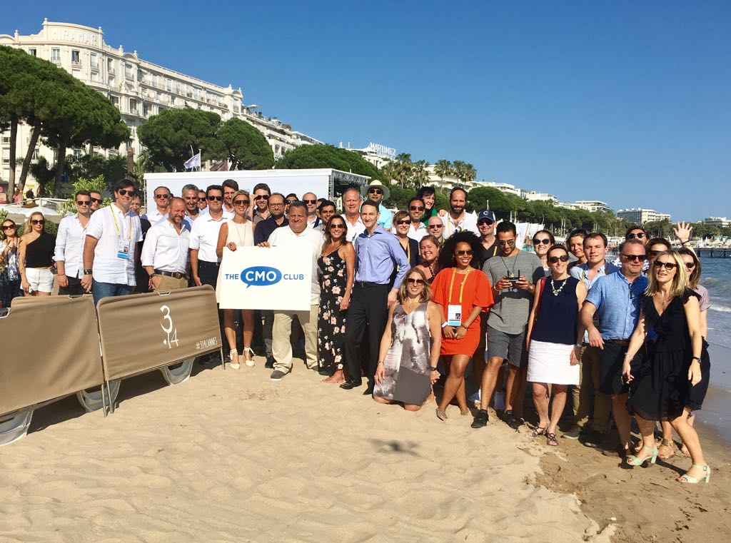The CMO Clubhouse at Cannes Lions