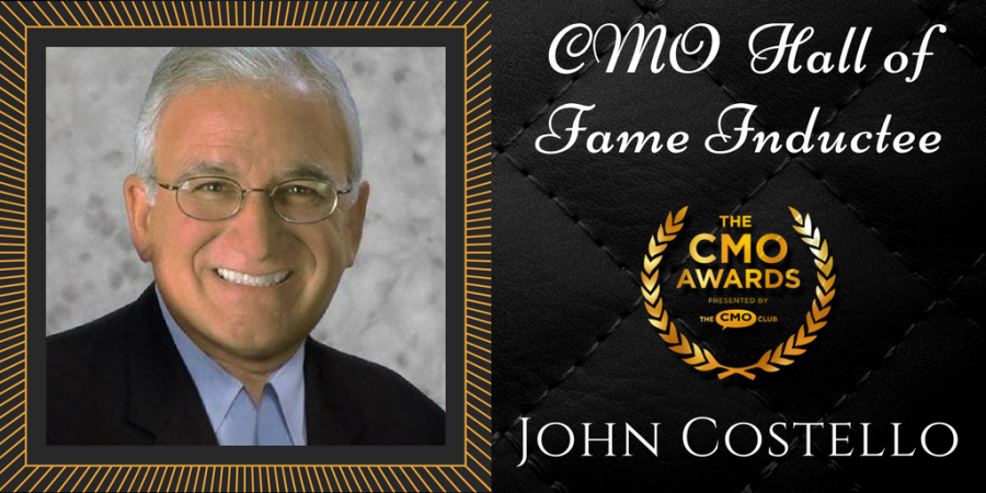 John Costello 2017 CMO Awards Hall of Fame Inductee