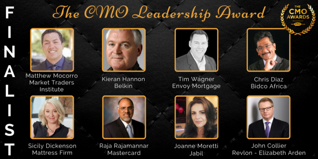 Leadership Award - 2017 CMO Awards Finalists