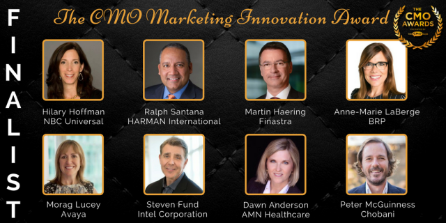 Marketing Innovation Award - 2017 CMO Awards Finalists