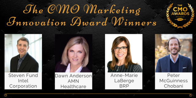Marketing Innovation Award Winners