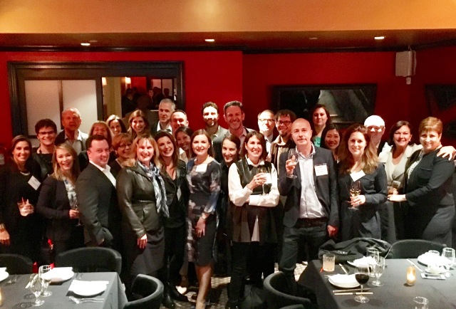 The CMO Club NYC Dinner 5.9.17