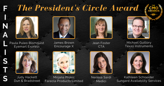 Presidents Circle Finalists 2018