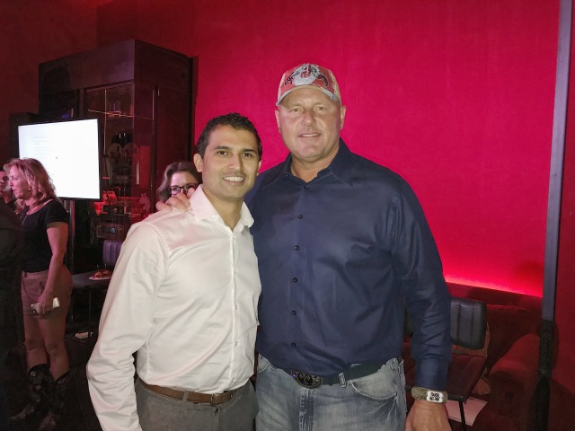 Sandeep Milar and Roger Clemens!