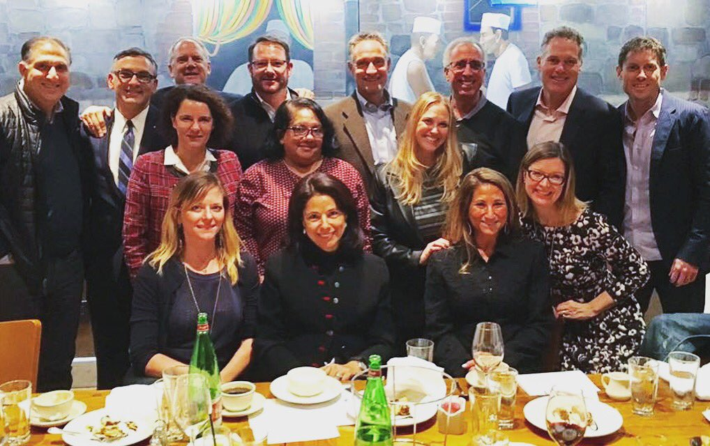 Silicon Valley Dinner 1.24.17