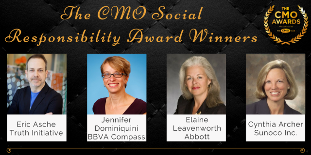 Social Responsibility Winners - 2017 CMO Awards Winners