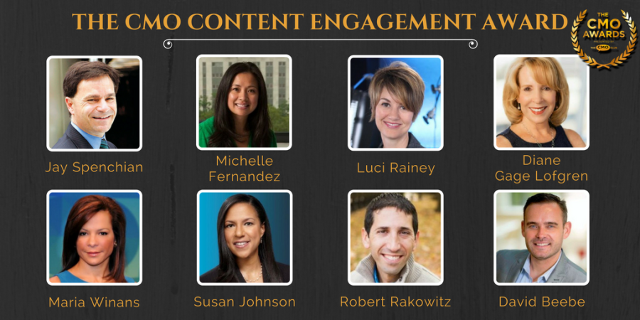 The CMO Awards Content Engagement Award