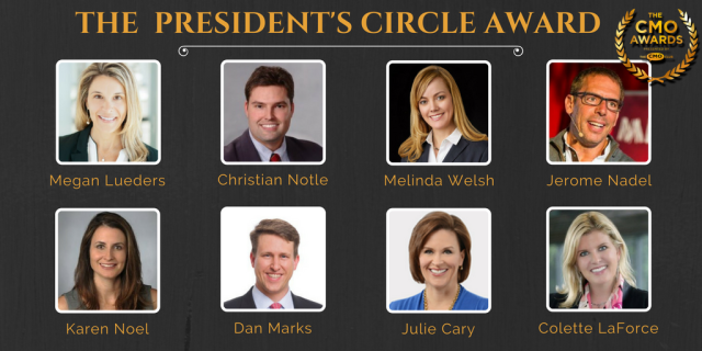 The CMO Awards Presidents Circle Award