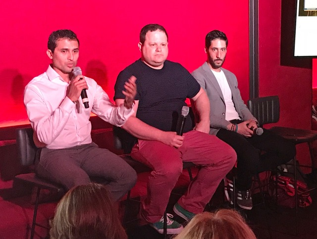 Sandeep Milar, Global Head of Advertising Solutions at Visa, Ricky Engelberg, VP Brands Comms/Digital/Media at Converse & Bachir Zeroual, Head of Marketing at Samsung Electronics America