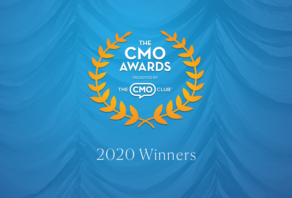 The CMO Awards Presented By The CMO Club - 2020 Winners Logo